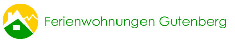 Ferienwohnung Gutenberg Logo